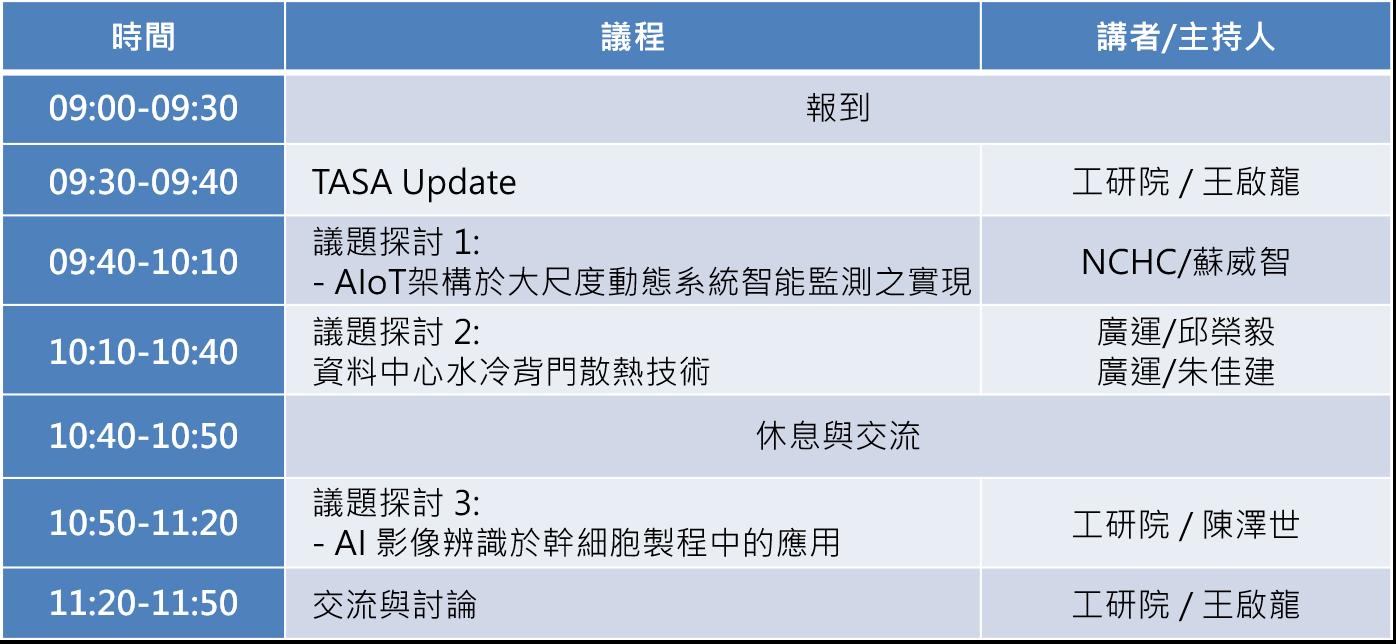 台灣AI系統聯盟第五次工作會議暨智慧醫療研討會,歡迎報名參加!