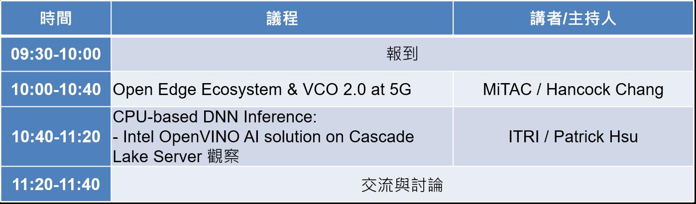 8/22 OCP Taiwan開放運算分享會,歡迎報名參加!